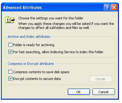 Windows Encrypting File System (EFS)