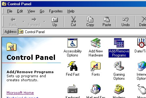 how to start windows 98 in dos mode